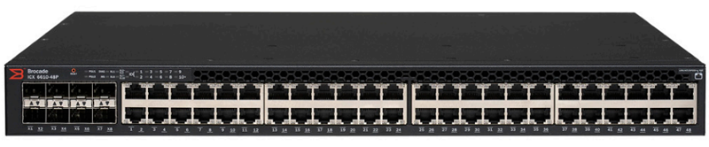 Ruckus ICX 6610-48P Switch